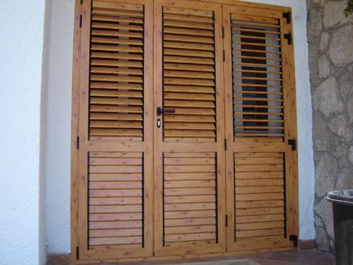 Mallorquina de madera materiales para la renovaci n de - Pintar aluminio lacado ...