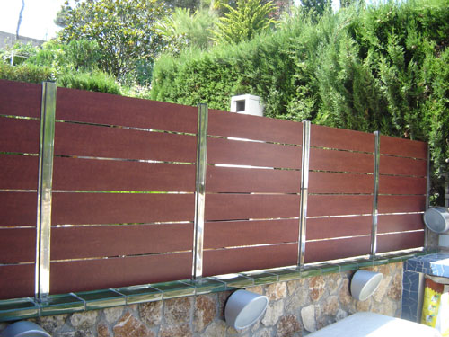 Alumini bartra carpinter a de aluminio fabricaci n propia for Vallas decorativas para jardin